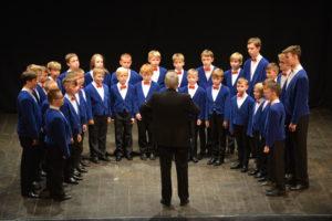 Szczecin Boy's Choir Slowiki from Poland, winners of category C