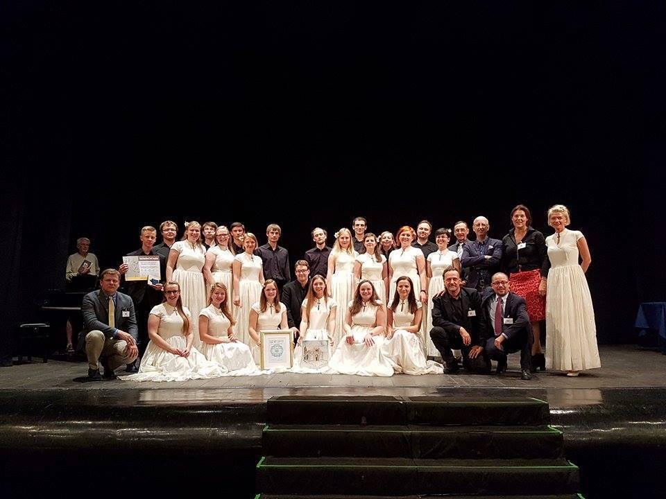 Chamber Choir Decoro from Latvia, Winner of the Grand Prix
