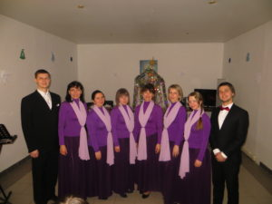 Choir of the Church of the Icon of the Smolensk Mother of God