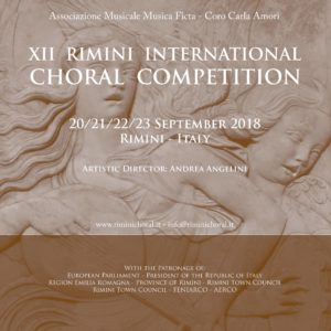 Rimini 2018 Choral Competition